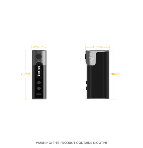 Aspire Zelos Mod Battery