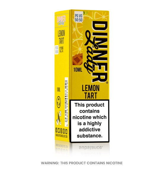 Lemon Tart 10ml E-Liquid by Dinner Lady