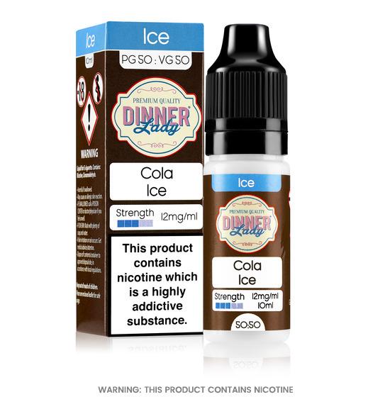 Dinner Lady Cola Ice 50/50 E-Liquid 10ml