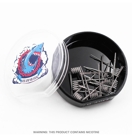 Fused Clapton Pre Made Coils by Steam Shark