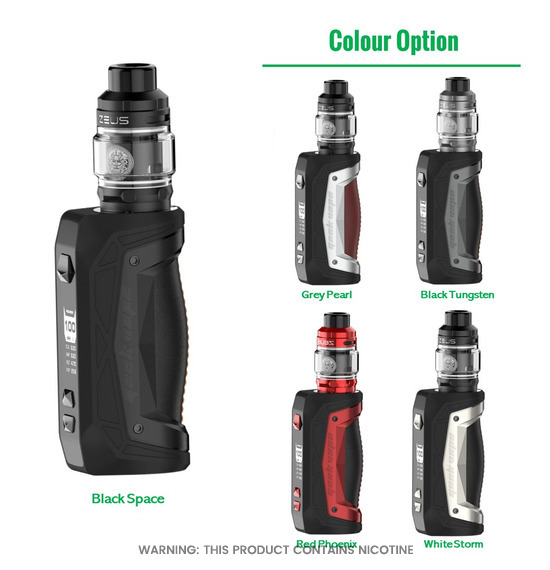 Aegis Max Zeus Kit by Geekvape