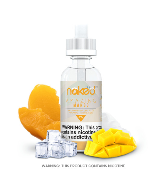 Amazing Mango Ice 50ml E-Liquid by Naked 100