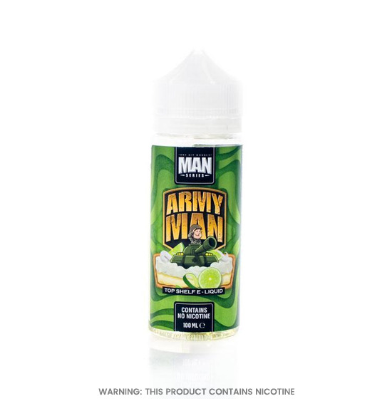 Army Man 100ml E-Liquid by One Hit Wonder