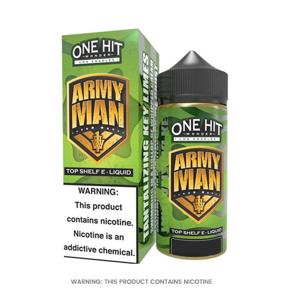 One Hit Wonder Army Man E-Liquid 100ml
