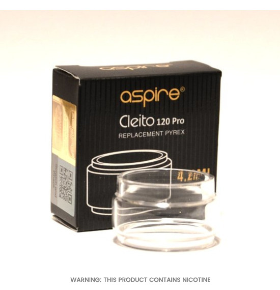 Cleito 120 Pro Bubble Glass by Aspire