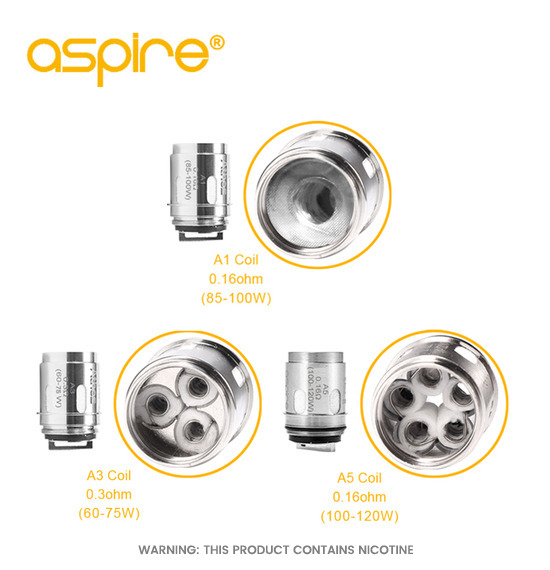 Aspire Athos A1 Replacement Coils