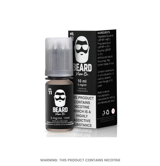 Beard No.71 E-Liquid 10ml