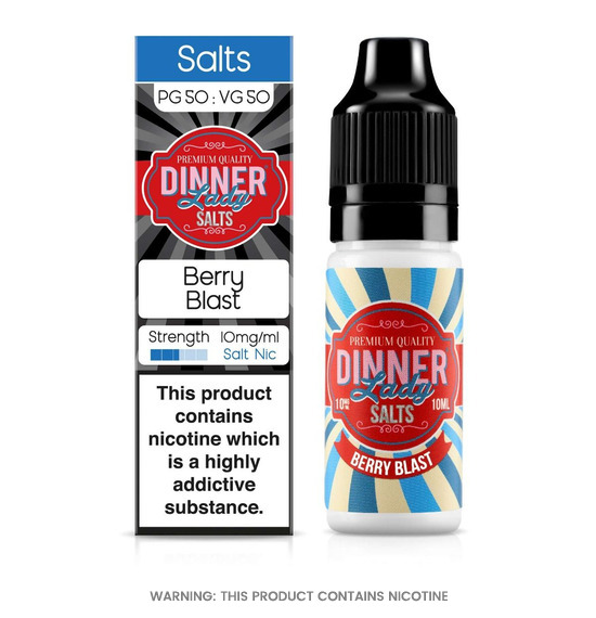 Dinner Lady Berry Blast Nic Salt E-Liquid 10ml