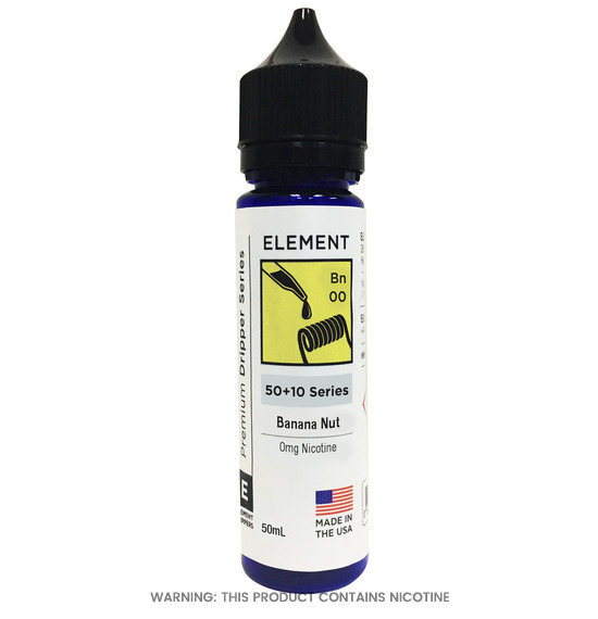 Element Banana Nut Dripper E-Liquid 50ml
