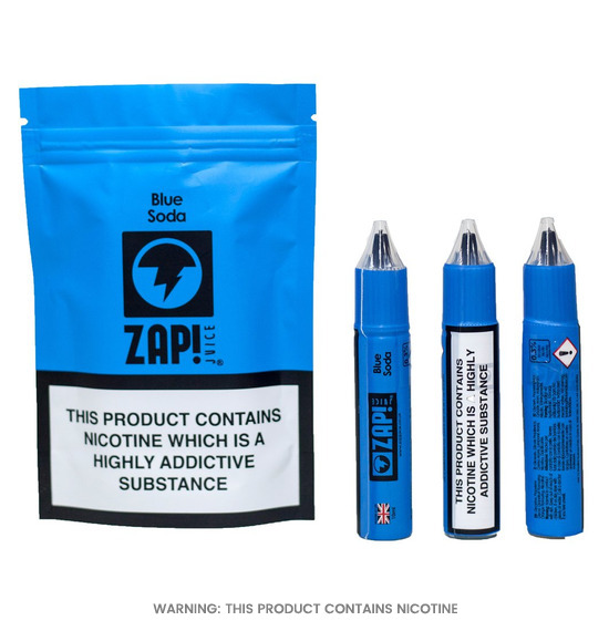 Blue Soda Zap! E-Liquid