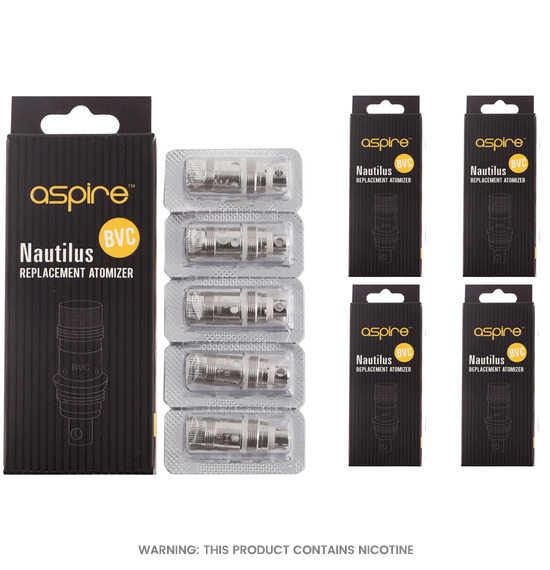 Bundle Package of Nautilus Mini Coils by Aspire
