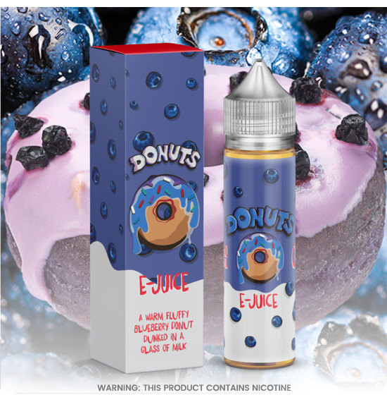 Donuts Blueberry E-juice 60ml E-Liquid
