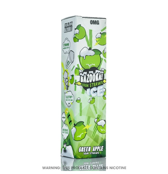 Green Apple Bazooka Ice 60ml