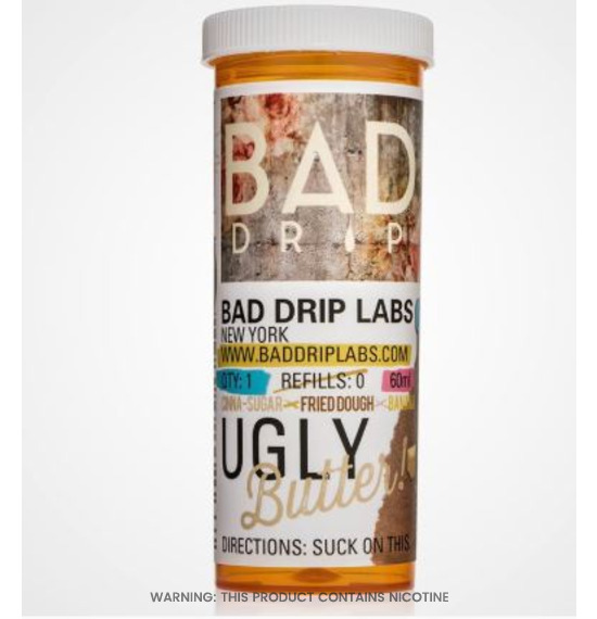 Ugly Butter 60ml E-Liquid by Bad Drip