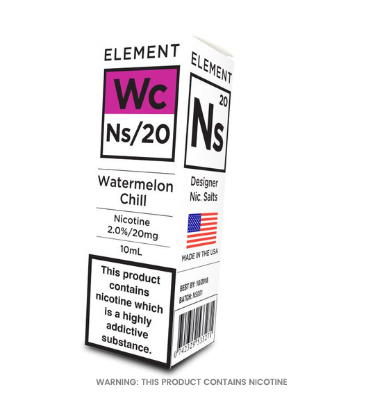 Element NS/20 Watermelon Chill E-Liquid