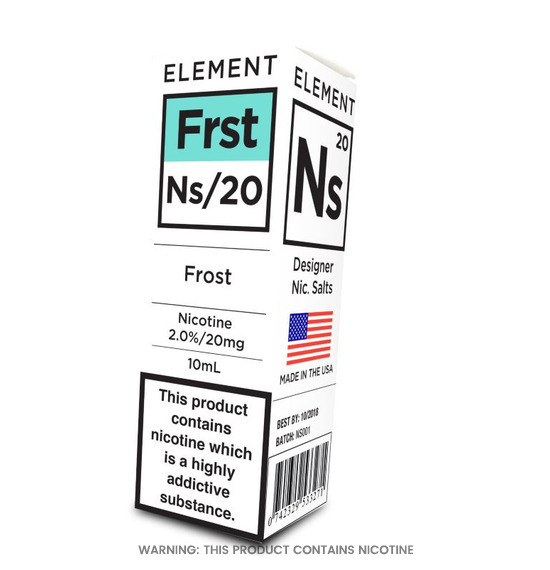 Element Frost Nic Salt E-Liquid 10ml