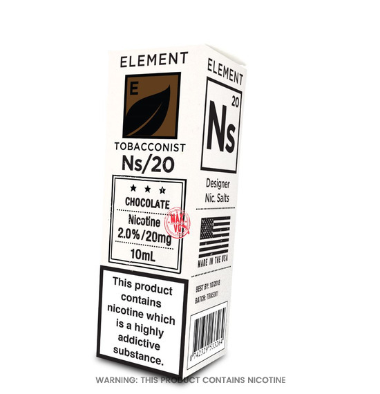 Element NS/20 Chocolate Tobacco E-Liquid