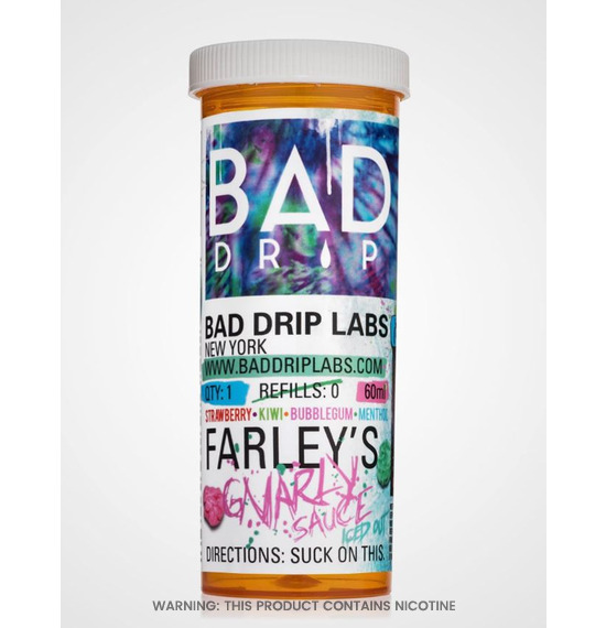 Farleys Gnarly Sauce 60ml E-Liquid by Bad Drip