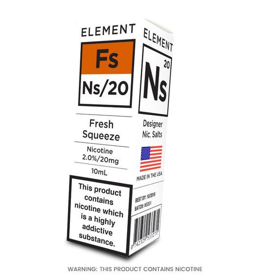 Element NS/20 Fresh Squeeze E-Liquid