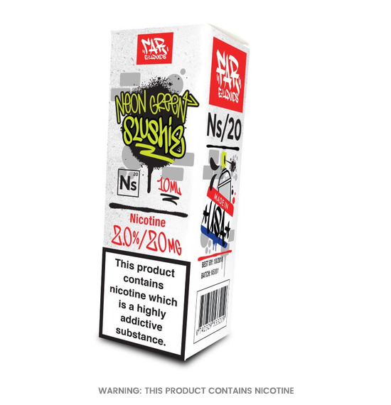 NS/20 Neon Green Slushie FAR E-Liquid