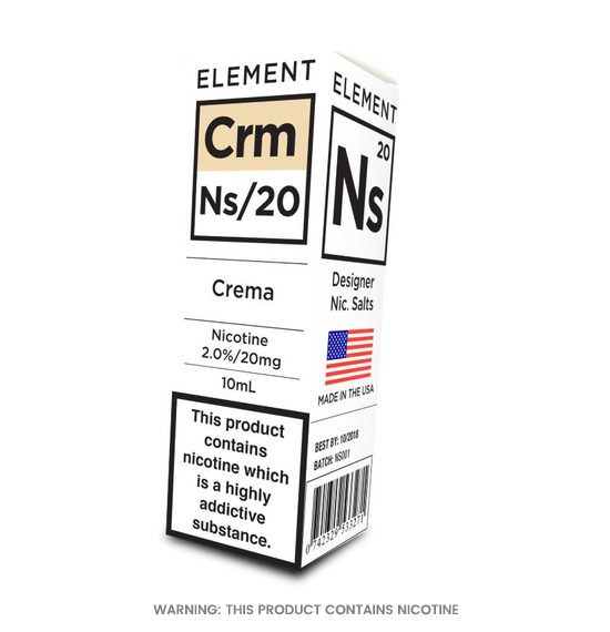 Element NS/20 Crema E-Liquid