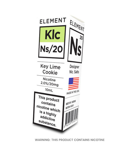 Element NS/20 Key Lime Cookie E-Liquid