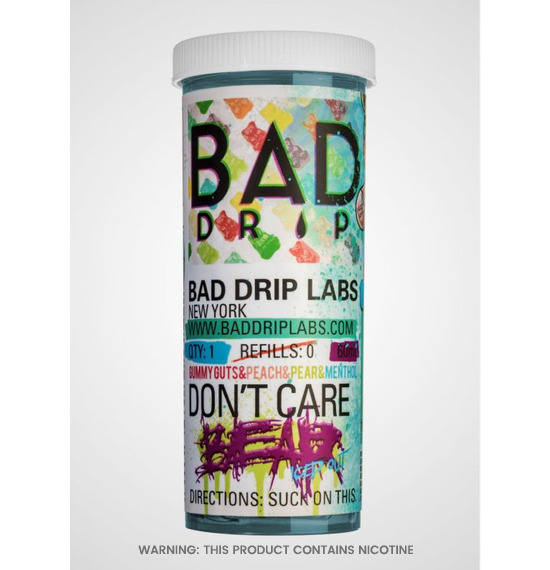 Dont Care Bear Iced Out 60ml E-Liquid by Bad Drip