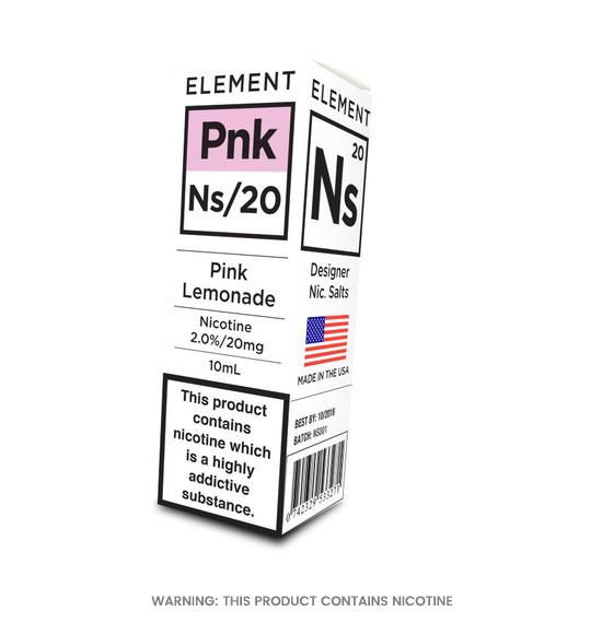 Element Pink Lemonade Nic Salt E-Liquid 10ml