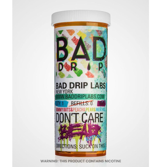 Dont Care Bear 60ml E-Liquid by Bad Drip