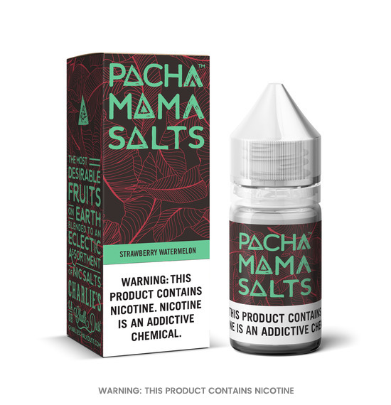 Pacha Mama Salts Strawberry Watermelon Nic Salt E-Liquid 10ml