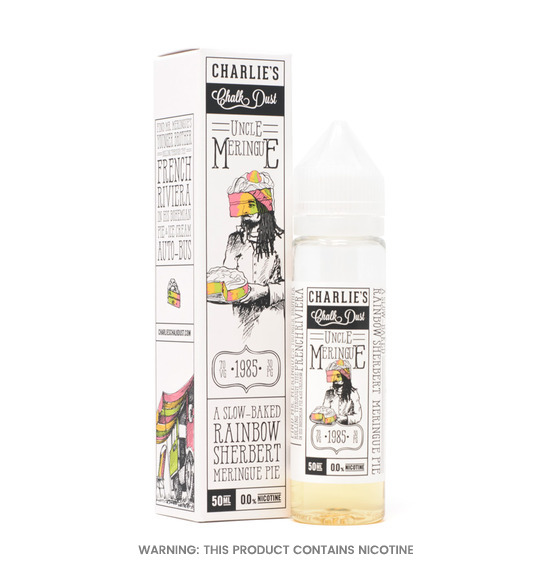Uncle Meringue Rainbow Sherbet Pie E-Liquid