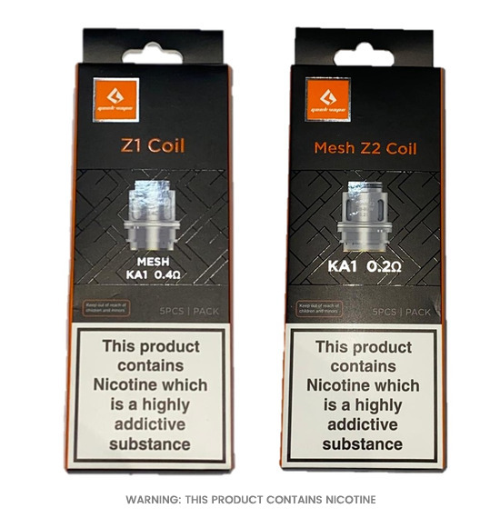 Zeus Z1 & Z2 Replacement Coils by Geekvape