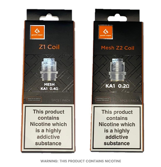 Geekvape Mesh Z Replacement Coils