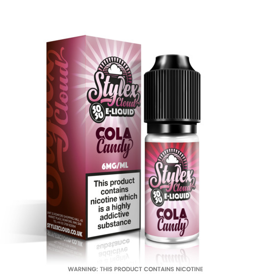 Cola Candy 10ml E-Liquid by Stylex Cloud