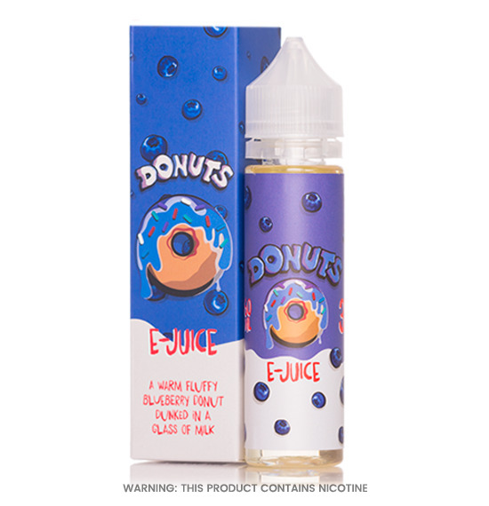 Donuts Blueberry E-juice 60ml E-Liquid