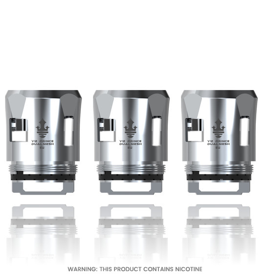 V12 Prince Dual Mesh Replacement Coils by Smok