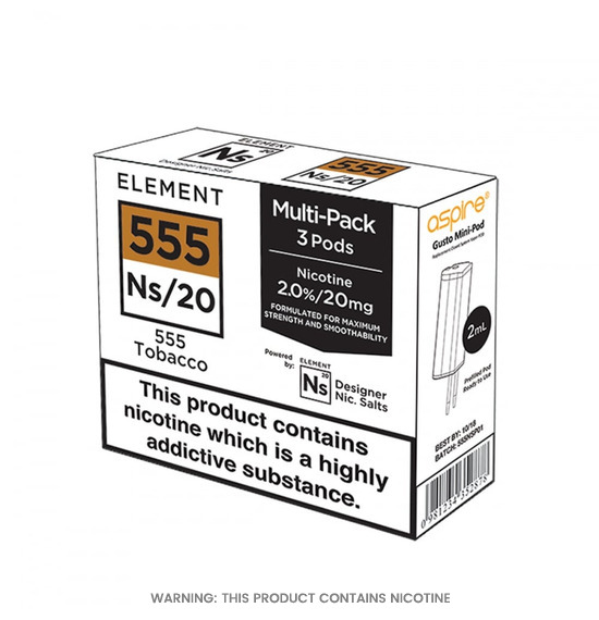 Element NS/20 555 Tobacco 2ml Pods