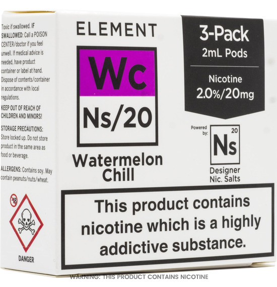 Element NS/20 Watermelon Chill 2ml Pods