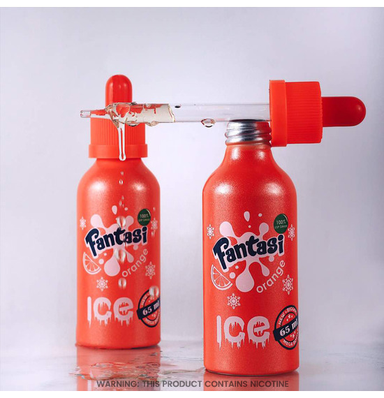 Fantasi Orange On Ice E-Liquid 50ml