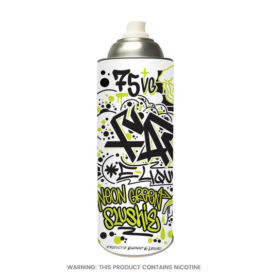 FAR Neon Green Slushie 100ml E-Liquid by Element