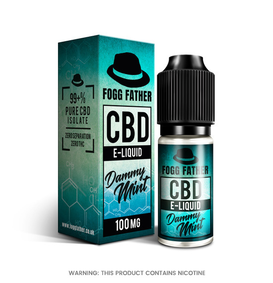 CBD Dammy Mint E-Liquid by Fogg Father