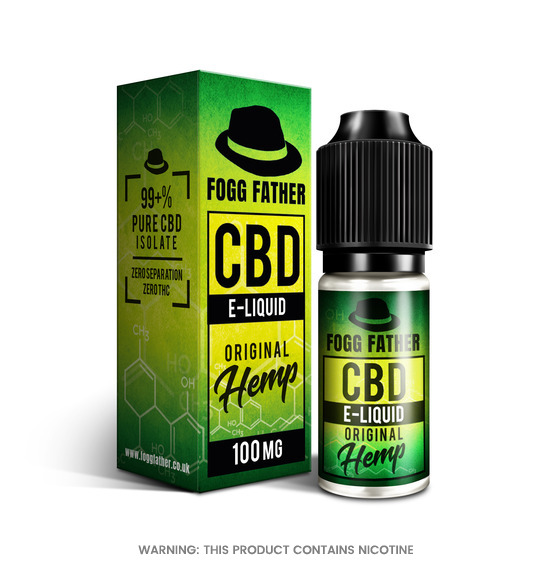 CBD Original Hemp E-Liquid by Fogg Father