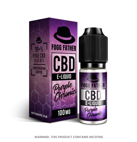 CBD Purple Chronic E-Liquid by Fogg Father