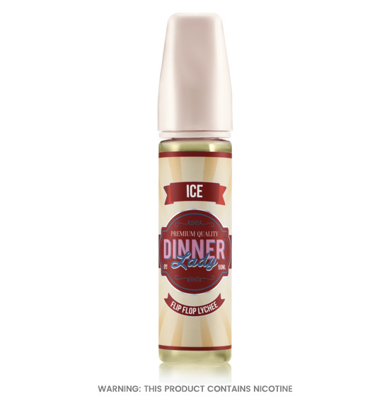 Dinner Lady Flip Flop Lychee E-Liquid 50ml