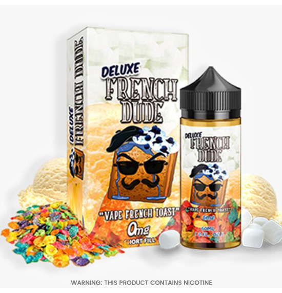 Deluxe French Dude 100ml E-Liquid by Vape Breakfast Classics