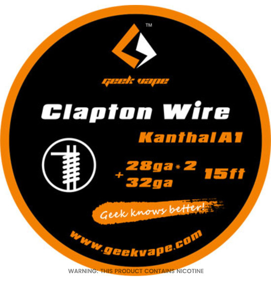 Clapton Wire Kanthal by Geek vape