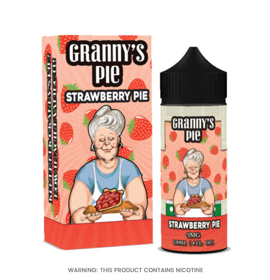 Granny's Pie Strawberry