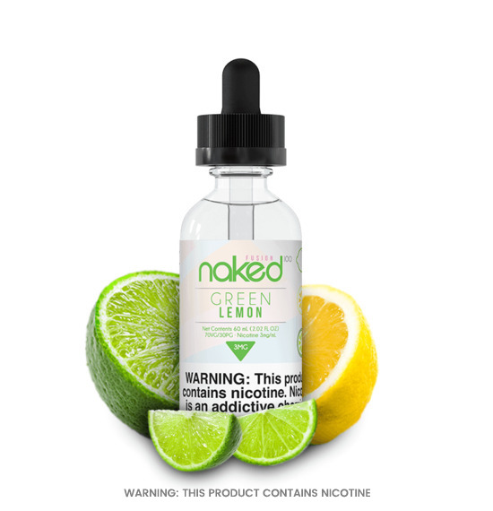 Green Lemon 50ml E-Liquid by Naked 100
