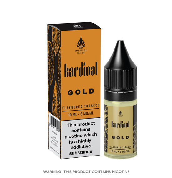 Kardinal Gold Tobacco 50/50 E-Liquid 10ml