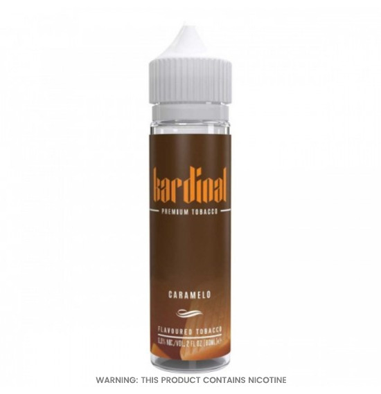 Premium Tobacco Caramelo 50ml E-Liquid by Kardinal